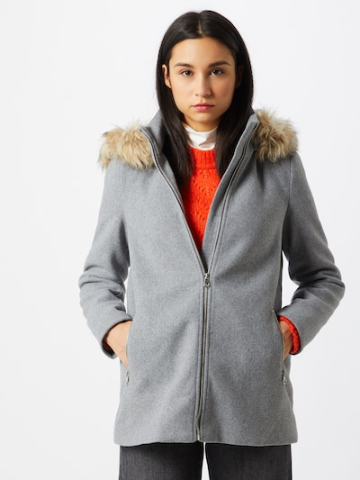 VERO MODA Winter coat in Light grey, View model
