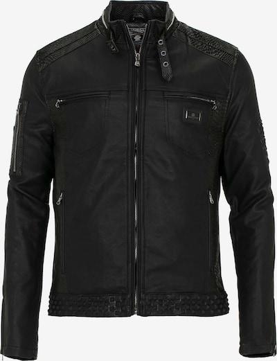 CIPO & BAXX Stylische Jacke mit coolem Tiger Motiv in schwarz, Produktansicht