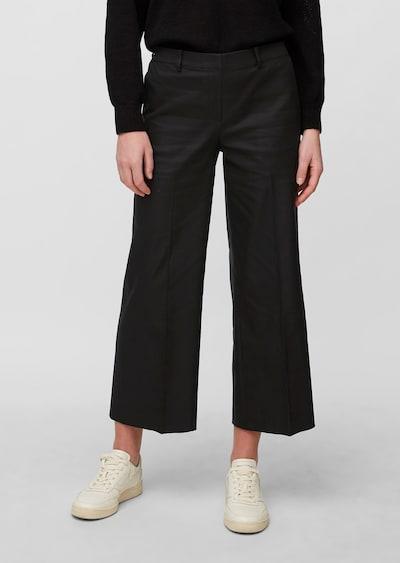 Marc O'Polo Hose 'Vansi' in schwarz, Modelansicht