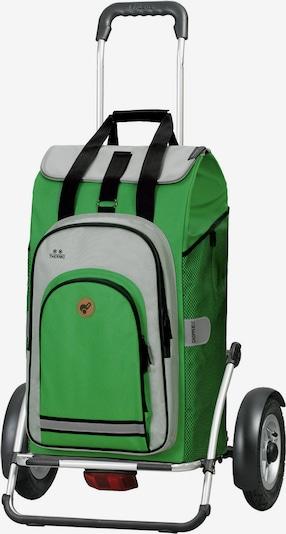 Andersen Shopper Shopper in grau / grün / schwarz, Produktansicht