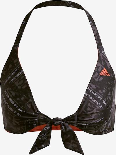 ADIDAS PERFORMANCE Reversible Bikinioberteil in grau / schwarz, Produktansicht
