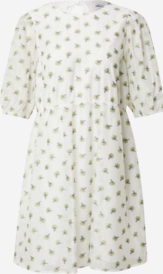Envii Kleid in grün / dunkellila / weiß, Produktansicht