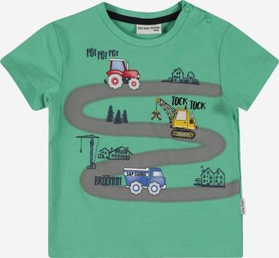 SALT AND PEPPER T-Shirt 'Adventure' en vert clair / mélange de couleurs, Vue avec produit