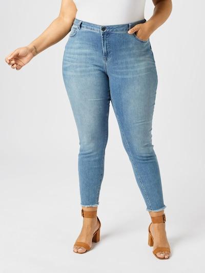 Zizzi Jeans 'ZINE' in blue denim, Modelansicht