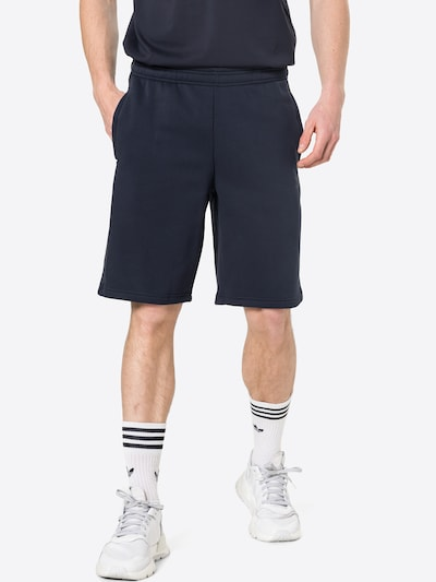 ADIDAS ORIGINALS Pantalon en bleu foncé / kaki / noir, Vue avec modèle