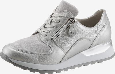 WALDLÄUFER Sneaker in hellgrau / silber / weiß, Produktansicht