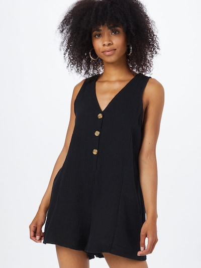 Salopeta 'ANICA' Cotton On pe negru, Vizualizare model