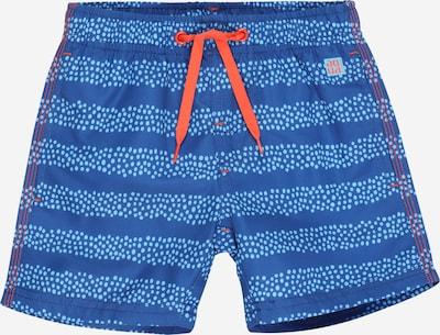 Pantaloncini da bagno SCHIESSER di colore blu / blu chiaro / arancione scuro, Visualizzazione prodotti
