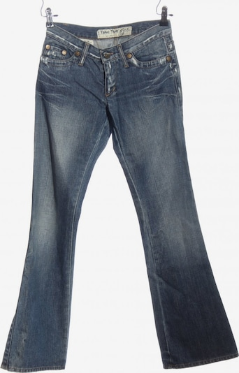 Take Two Straight-Leg Jeans in 28 in creme / blau, Produktansicht