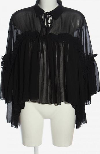 Golden Days Rüschen-Bluse in S in schwarz, Produktansicht