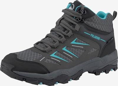 POLARINO Schuh in blau / anthrazit, Produktansicht