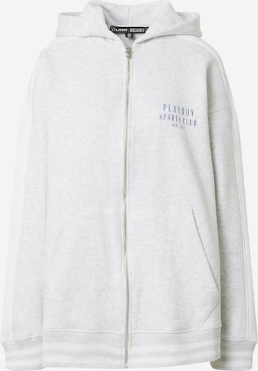 szürke melír / fehér Missguided Tréning dzseki, Termék nézet