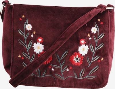 Deichmann Trachtentasche in One Size in khaki / rot / weiß, Produktansicht