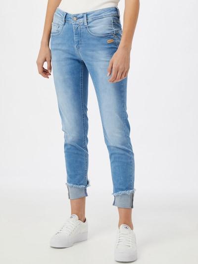 Gang Jeans 'AMELIE' in blue denim, Modelansicht
