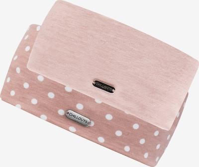 chillouts Stirnband 'Bari + Lodz' in rosa / weiß, Produktansicht