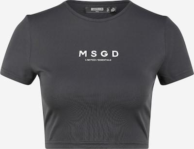Missguided (Tall) Tričko - tmavě šedá / bílá, Produkt