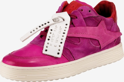 A.S.98 Sneakers in fuchsia / rot / weiß, Produktansicht