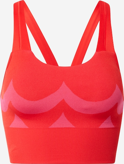 ADIDAS PERFORMANCE Sport-BH in pink / rot, Produktansicht
