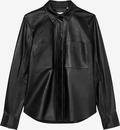 Marc O'Polo Pure Blouse in de kleur Zwart, Productweergave