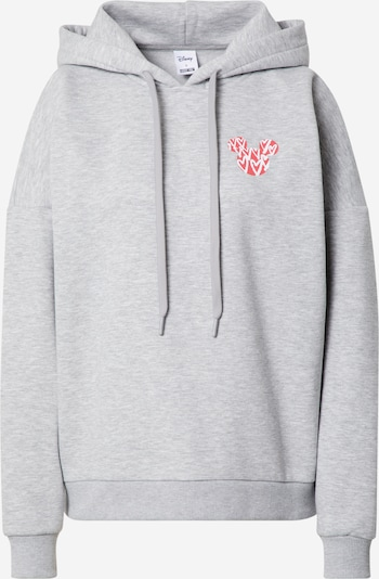 ABOUT YOU x Disney Sweat-shirt 'Holly' en gris chiné, Vue avec produit