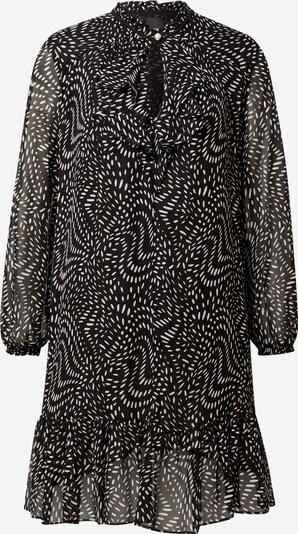 PINKO Kleid 'GEORGETTE' in schwarz / weiß, Produktansicht