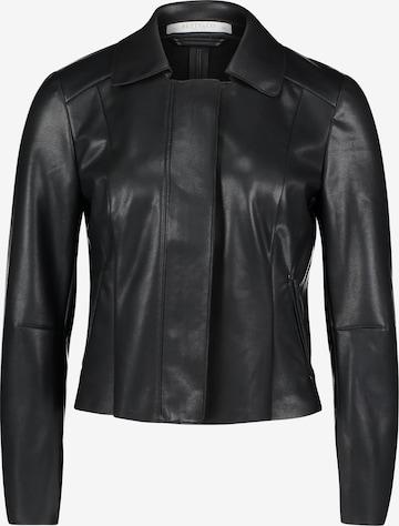 Betty & Co Blazer-Jacke mit Reißverschluss in Schwarz