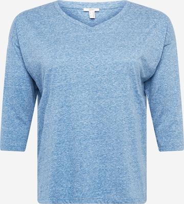 Esprit Curves Shirt in Blau