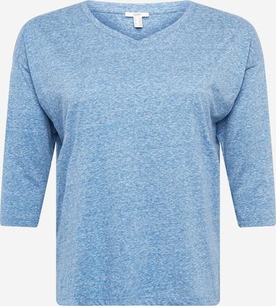 Esprit Curves Shirt in blaumeliert, Produktansicht