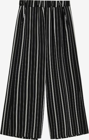 MANGO Hose in schwarz / weiß, Produktansicht
