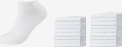 SKECHERS Socken 'Jacksonville' in weiß: Frontalansicht