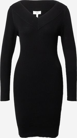 OBJECT Úpletové šaty 'Manja' - černá, Produkt