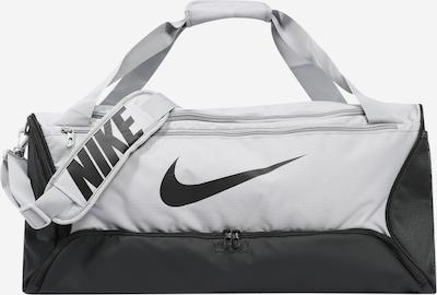 NIKE Sporttasche 'Brsla M Duff - 9.0' in hellgrau / schwarz, Produktansicht