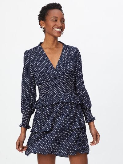 ONLY Kleid 'IRENA' in dunkelblau / weiß, Modelansicht