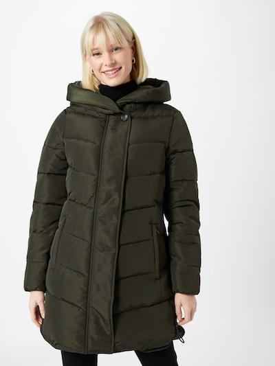 TOM TAILOR Abrigo de invierno en verde oscuro, Vista del modelo