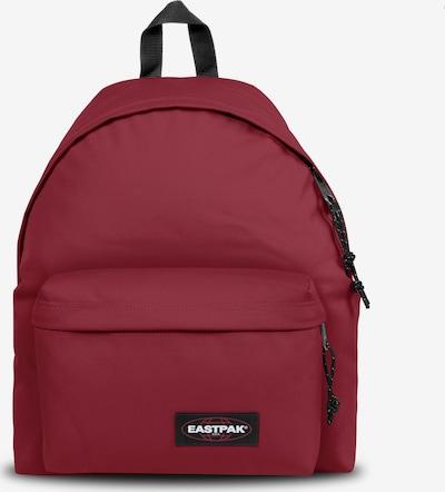 EASTPAK Rucksack 'Pak'r' in dunkelrot / schwarz, Produktansicht