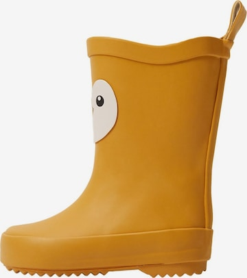 Bottes en caoutchouc 'rainb' MANGO KIDS en jaune