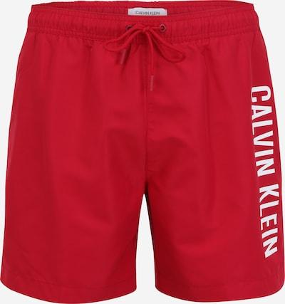 Calvin Klein Swimwear Plavecké šortky 'Intense Power' - malinová / biela, Produkt
