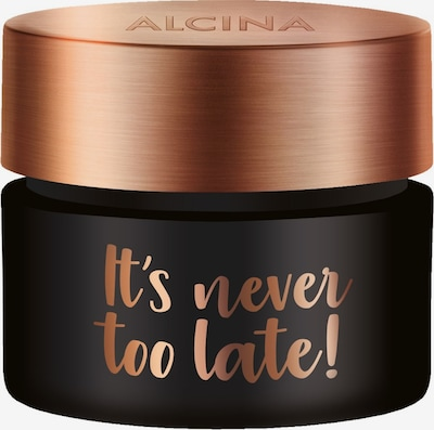 Alcina Gesichtscreme 'It's Never Too Late!' in schwarz, Produktansicht