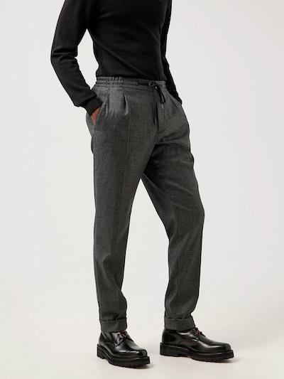 J.Lindeberg Plisované nohavice 'Sasha' - tmavosivá / čierna, Model/-ka