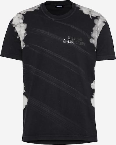 DIESEL Tričko 'JUBIND' - světle šedá / černá, Produkt