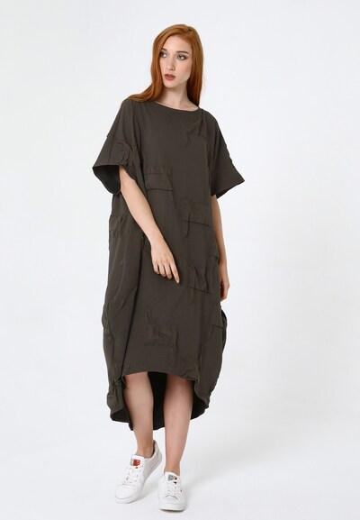 Madam-T Kleid 'Ashley' in grün, Modelansicht