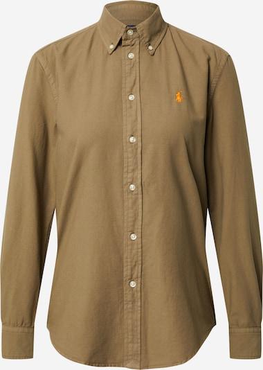 POLO RALPH LAUREN Bluse i oliven / orange, Produktvisning