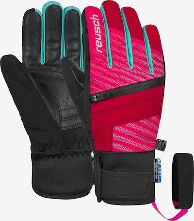 REUSCH Fingerhandschuhe 'Theo R-TEX® XT Junior' in pink / rot, Produktansicht