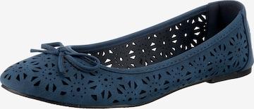 ambellis Ballet Flats in Blue