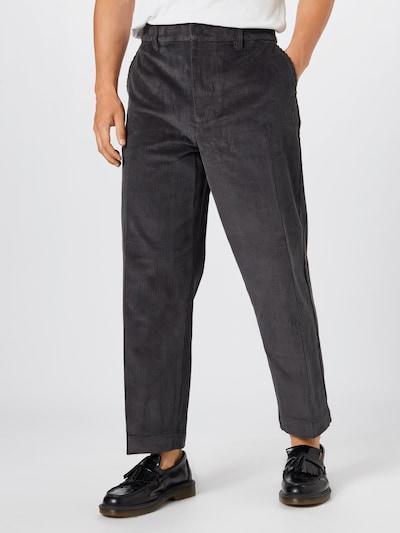 Calvin Klein Jeans Pantalon folklorique en gris foncé, Vue avec modèle