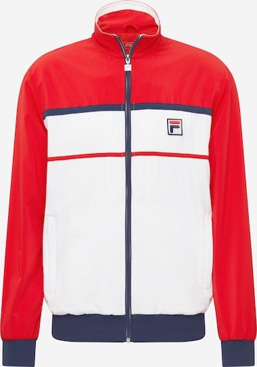 FILA Sportovní bunda 'Max' - chladná modrá / červená / bílá, Produkt