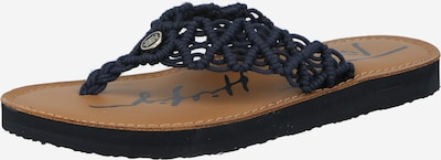 TOMMY HILFIGER T-bar sandals in Night blue, Item view