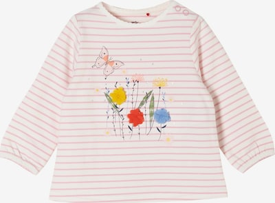 s.Oliver Shirt in hellblau / gelb / rosé / rot, Produktansicht