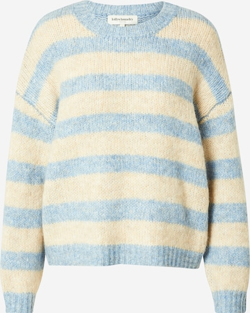 Lollys Laundry Pullover 'Terry' in Blau