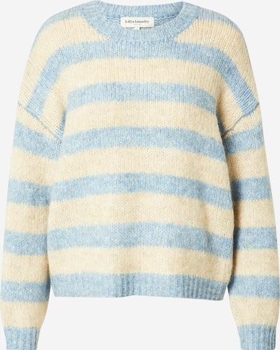 Lollys Laundry Pullover 'Terry' in blau / gelb, Produktansicht